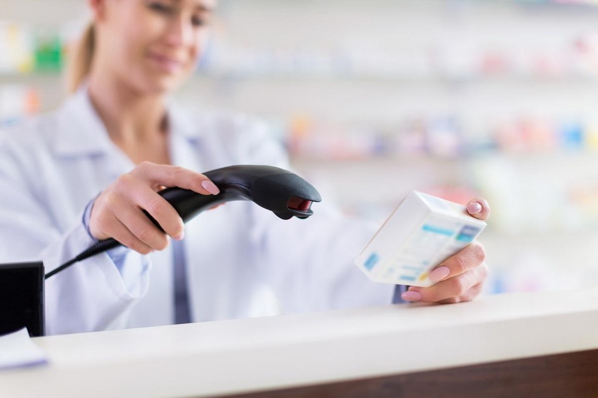 2d-сканер для считывания кода для аптек